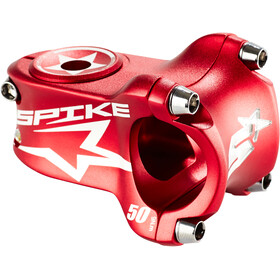 Spank Spike Race Potence à angle ajustable Ø 31,8 mm, shotpeen red